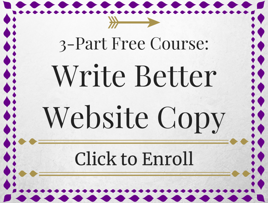 write better website copy