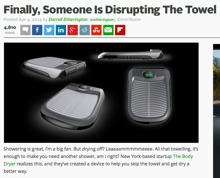 tacky copywriting tech crunch disrupt, copywriting that sells